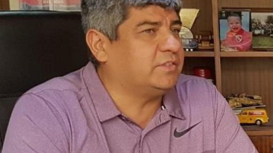 Pablo Moyan, Secretario General Adjunto del sindicato de Choferes de Camiones