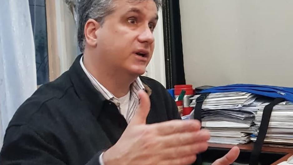Federico Tonarelli, vicepresidente Cooperativa Hotel Bauen