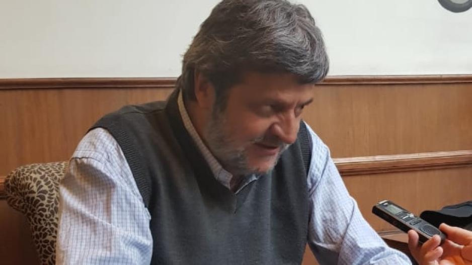 Guillermo Pacagnini, secretario general de CICOP