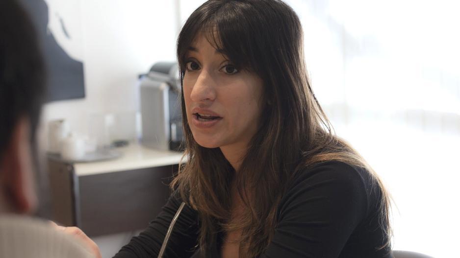 Agustina Panissa, candidata a secretaria general adjunta por Ate Capital Lista Verde y Blanca
