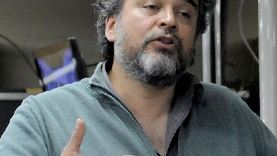Fernando Cáceres, delegado gremial Agencia DyN